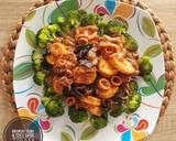 Brokoli Cumi & Tofu Saus Tiram langkah memasak 4 foto