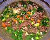Soup iga daging simple langkah memasak 4 foto