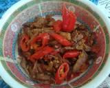 Daging Empal Suwir Masak Sambel Bawang langkah memasak 4 foto