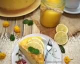 Japanese Cheese Cake with Lemon Curd langkah memasak 16 foto