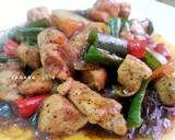 Chicken Blackpepper #KamisManis langkah memasak 3 foto