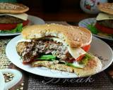 Low carb Pancake Burger #ketopad langkah memasak 6 foto