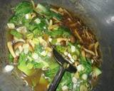 Tahu dengan saus jamur langkah memasak 10 foto