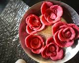 Beetroot rose bouquet recipe step 3 photo