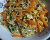 Tumis toge+wortel langkah memasak 4 foto