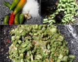 Pencok Kacang Panjang langkah memasak 2 foto