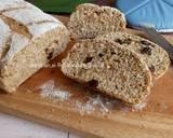 Roti Gandum Olive Oil langkah memasak 17 foto
