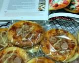 Pizza mini langkah memasak 5 foto