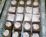 Ogura Coklat Cake langkah memasak 23 foto