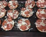 Pizza bagels recipe step 3 photo