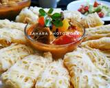 Roti Jala Kuah Kari langkah memasak 4 foto