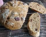 Cranberry Whole Wheat Bread langkah memasak 17 foto
