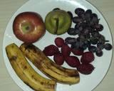 Yogurt fruits salad