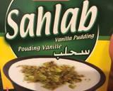 Sahlab vanilla pudding drink recipe step 1 photo