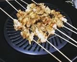 Sate jamur (menu diet) langkah memasak 3 foto