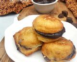 Terigu Goreng Isi Coklat langkah memasak 6 foto