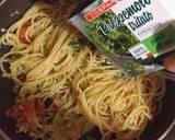 Spaghetti con pomodoro e tonno langkah memasak 5 foto