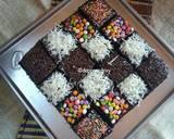 Eggless Chocolate Cake (No Mixer) langkah memasak 7 foto