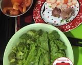 Selada brokoli rebus cah kuah tomat#homemadebylita langkah memasak 1 foto