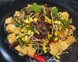 Tumis Kacang Panjang, Tauge, dan Jamur Kuping langkah memasak 6 foto
