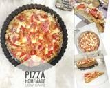 Pizza Sehat Homemade Rendah Karbohidrat langkah memasak 11 foto