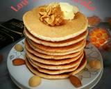 Low Carb Almond Pancake#ketopad langkah memasak 9 foto