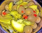Rambutan Mix Mangga asinan langkah memasak 3 foto