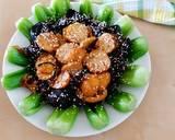 Sawi Daging Siram Tumisan Jamur kuping& Bakso #RabuBaru_Cookpad langkah memasak 4 foto
