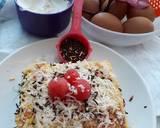 Cotton cake Susu kental manis langkah memasak 10 foto