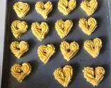 Cookies Semprit ala Valentines langkah memasak 4 foto