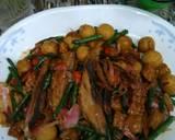 Tumis Tempe Tongkol Tahu Bulat kecombrang Kacang Panjang langkah memasak 5 foto