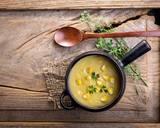 Thyme & Corn Soup Recipe