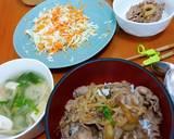 Gyudon ala Yoshinoya langkah memasak 4 foto
