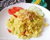 Nasi Goreng Kunyit Ikan Teri langkah memasak 2 foto