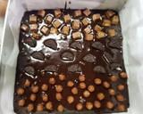 Brownies glossy crust and chewy inside langkah memasak 7 foto