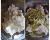 Green Tea Latte Cheesecake Mousse langkah memasak 4 foto