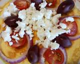 Greek salad omelette recipe step 5 photo