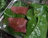 HCG Diet meal 11: spinach and beef fillets recipe step 1 photo