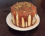 Chocolate Pumpkin Layer Cake recipe step 14 photo