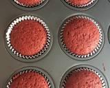 Eggless red velvet muffins recipe step 6 photo