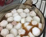 Lobak Kuah Bakso Sosis langkah memasak 5 foto