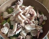 Cumi Basah Cabai Hijau langkah memasak 3 foto
