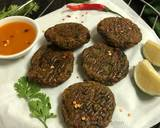 Pan Fried and Baked Fenugreek Seeds Tikki recipe step 6 photo