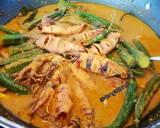 Gulai Cumi, Okra, Cabe Ijo langkah memasak 3 foto