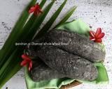 Charcoal Whole Wheat Bread langkah memasak 18 foto