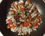 Alici in Tegame con Pomodorini e Caperi langkah memasak 3 foto