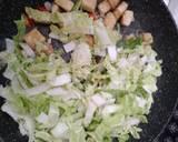 Oseng Sawi Putih Tahu langkah memasak 4 foto