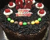 Black Forest Cake Ultah langkah memasak 9 foto