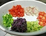 Healthy kabuli chana salad recipe step 3 photo