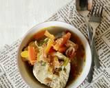 (3)Sup ikan wortel #rabubaru langkah memasak 4 foto